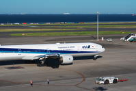 HND - 411 - fun time (飛行機と空)