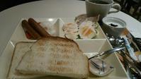 カフェ・ド・クリエ『彩りモーニングプレート ゆで卵とソーセージ』 - My favorite things