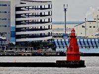 横浜港(1/5)/横浜北水堤灯台 - 四十八茶百鼠