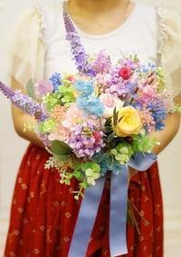 1DAY単発プリザーブドレッスンブーケなど花嫁さま手作りワークショップ 9月2日ご報告 - 一会 ウエディングの花