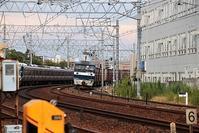 藤田八束の鉄道写真@鉄道写真は実に楽しい・・・散歩を兼ねて貨物列車写真を撮りにいきました、さくら夙川駅まで自転車に乗って - 藤田八束の日記