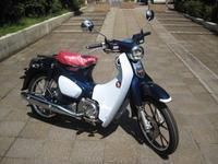 C125入荷 - バイクの横輪