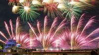 横浜・八景島シーパラダイス 「花火シンフォニア」 - エーデルワイスPhoto