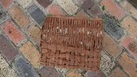 一人籠編み教室 - 古布や麻の葉