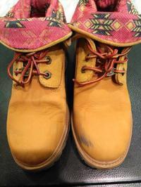 Timberland ヌバック汚れ - シューケア靴磨き工房 ルクアイーレ イセタンメンズスタイル <紳士靴・婦人靴のケア&修理>