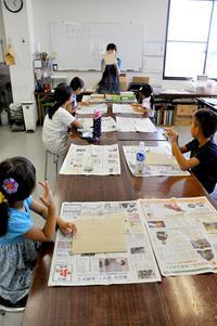 児童画クラスジオラマをつくろう! - 大阪の絵画教室|アトリエTODAY