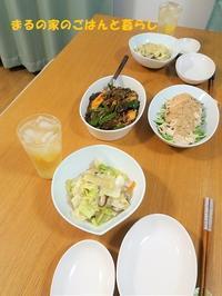 中華の日、和食の日~8月15日、16日の晩ごはん~ - まるの家のごはんと暮らし