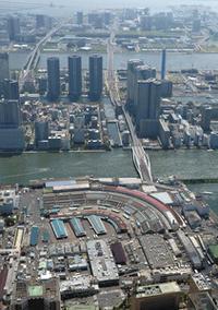 いよいよ築地は閉場、オリンピックのための環状2号線(外濠道路)の延長工事 - Quovadis