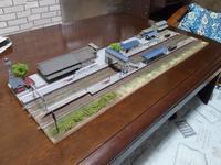 Nジオラマ、ローカル線の中型交換駅 - e-stationショップブログ