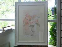 花の水彩画 - 絵のある生活ページワン