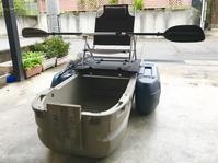 ⑤フロートボート 自作ラダー - まめまめの石川県バス釣り奮闘記