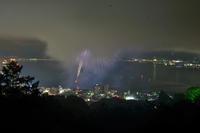 こんな感じです…諏訪湖花火 - Taro's Photo