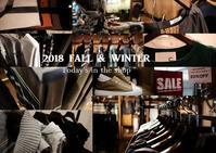 """2018 Fall & Winter~Today's in the shop...9/7fri"" - SHOP ◆ The Spiralという館~カフェとインポート雑貨のある次世代型セレクトショップ~"