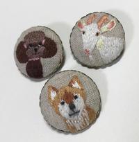 刺繍ブローチ・動物シリーズ - vogelhaus note
