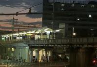 82夕暮れの新三河島駅 - 荒川区百景、再発見
