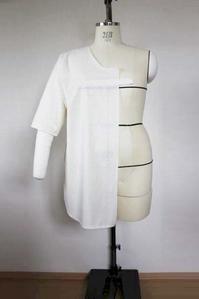 チュニックTシャツ型紙のLLサイズ3Lサイズを追加しました - 想いをかたちに・・・