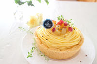 モンブランチーズタルト( *´꒳`*) - おうちカフェ*hoppe