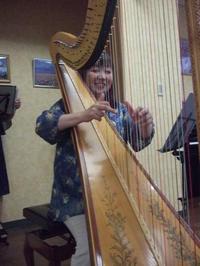 鹿児島医療センター院内コンサートでした - 大竹智巳 ハープブログ