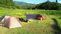 台風後のキャンプ - ウィズアンドウィズ スタッフブログ