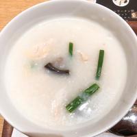「粥茶館 糖朝」東京ミッドタウンの中でサクッとおやつにお粥いただきました。 - あれも食べたい、これも食べたい!EX