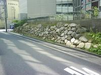 豊臣時代大坂城三の丸北端の石垣 - 時の流れに身を任せ…