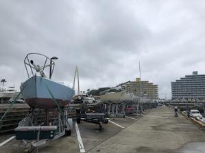 台風一過とMTG - Siesta Sailing Team