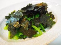 小松菜サラダと黒七味大根 - sobu 2