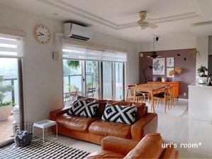 天井からのインテリアグリーンの吊るし方について。 - uri's room* 心地よくて美味しい暮らし