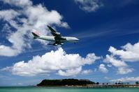 地球温暖化 - 南の島の飛行機日記