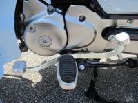 スーパーカブ125のチェンジペタル - バイクの横輪