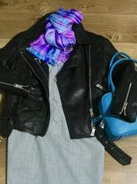 ウールワンピース「Gray」をどう着る? ② - madameHのバラ色の人生