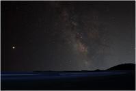 お倉ヶ浜の銀河 - 一期一会 ☆