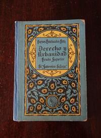 """Book 292 """"Derecho y Urbanidad"""" - スペイン・バルセロナ・アンティーク gyu's shop"""