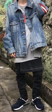 上ファセ、下ミハラ - メンズファッション塾-ネクステージ-
