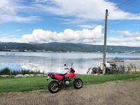 諏訪湖へプチツー - 週末は山にいます