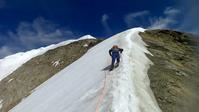 Mönch 2018 August (5) 登る - ヨーロッパと日本の山