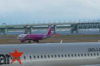KIX - 21 - fun time (飛行機と空)