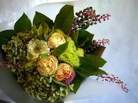 お父様の古希のお祝い花束。2018/09/03。 - 札幌 花屋 meLL flowers