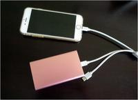 iPhoneとモバイルバッテリー - mamiノート