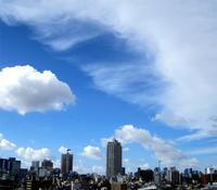 きれいな空 - のんびり街さんぽ