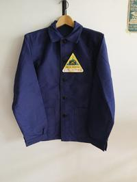 40's〜50's Le Mont St Michel Ink Blue Moleskin Coverall Dead Stock!! - DIGUPPER BLOG