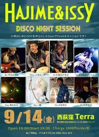 HAJIME & ISSY DISCO NIGHT SESSION - 大和邦久 STAFF BLOG