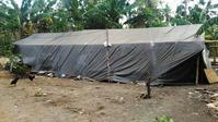 被災地に物資を届けましたその1マンシット村 - ママハナのロンボク日記 Dua