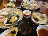 秋の味覚・寿司ランチ - 健康で輝いて楽しくⅡ