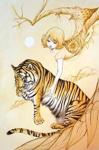 虎図 - LoopDays     Sachiko's Illustration blog