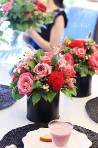 9月の体験レッスン - Le vase*  diary 横浜元町の花教室