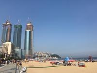 すでに真夏!?の釜山へ 4. 海雲台ビーチ&海雲台市場を散策 - マイ☆ライフスタイル