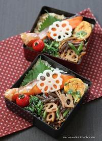 月曜鮭弁 ✿ 赤魚のバター焼き御膳(๑¯﹃¯๑)♪ - **  mana's Kitchen **
