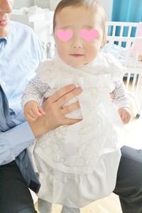 息子の洗礼式の服☆ - ドイツより、素敵なものに囲まれて②