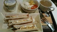 カフェ・ド・クリエ 『トーストサンドモーニング ハムタマゴ』 - My favorite things